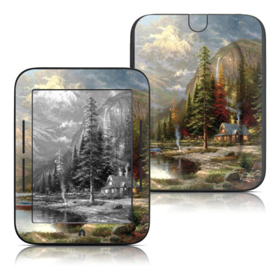 Barnes and Noble Nook Touch Skin - Mountain Majesty