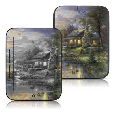 Barnes and Noble Nook Touch Skin - Natures Paradise