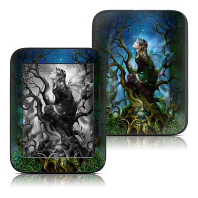 Barnes and Noble Nook Touch Skin - Nightshade Fairy