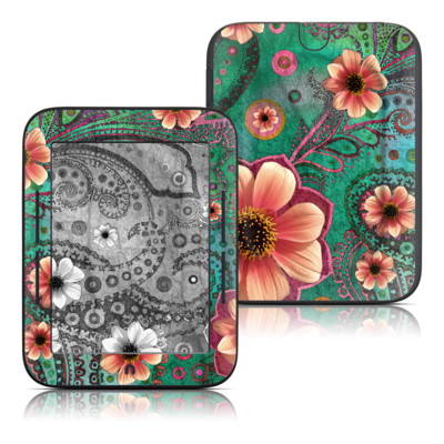 Barnes and Noble Nook Touch Skin - Paisley Paradise