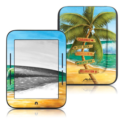 Barnes and Noble Nook Touch Skin - Palm Signs