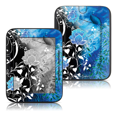 Barnes and Noble Nook Touch Skin - Peacock Sky