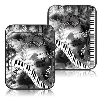Barnes and Noble Nook Touch Skin - Piano Pizazz
