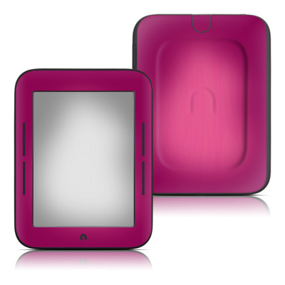 Barnes and Noble Nook Touch Skin - Pink Burst