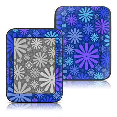 Barnes and Noble Nook Touch Skin - Indigo Punch