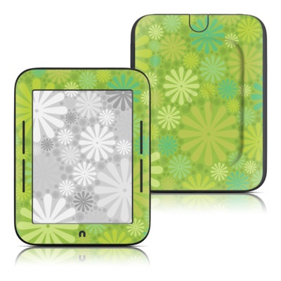 Barnes and Noble Nook Touch Skin - Lime Punch