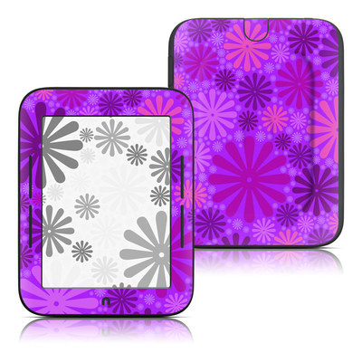 Barnes and Noble Nook Touch Skin - Purple Punch