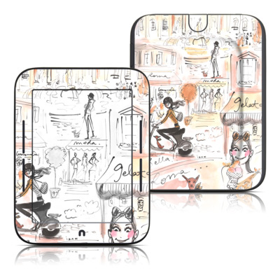 Barnes and Noble Nook Touch Skin - Rome Scene