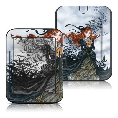 Barnes and Noble Nook Touch Skin - Raven's Treasure