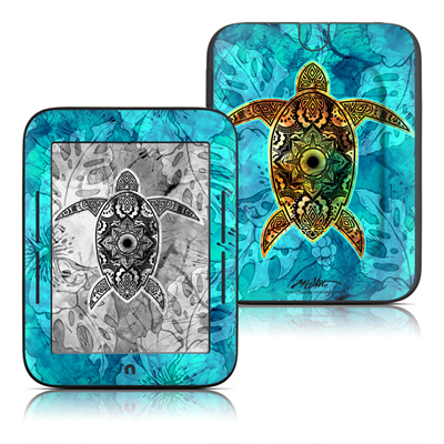Barnes and Noble Nook Touch Skin - Sacred Honu
