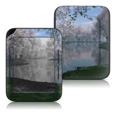 Barnes and Noble Nook Touch Skin - Sakura