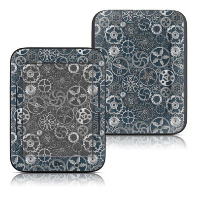 Barnes and Noble Nook Touch Skin - Silver Gears
