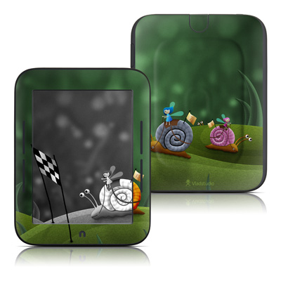 Barnes and Noble Nook Touch Skin - Snail Race