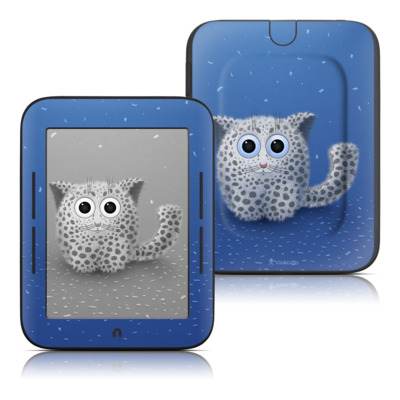 Barnes and Noble Nook Touch Skin - Snow Leopard