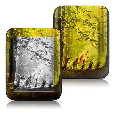 Barnes and Noble Nook Touch Skin - Secret Parade
