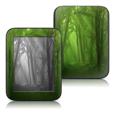 Barnes and Noble Nook Touch Skin - Spring Wood