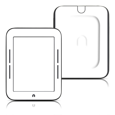 Barnes and Noble Nook Touch Skin - Solid State White