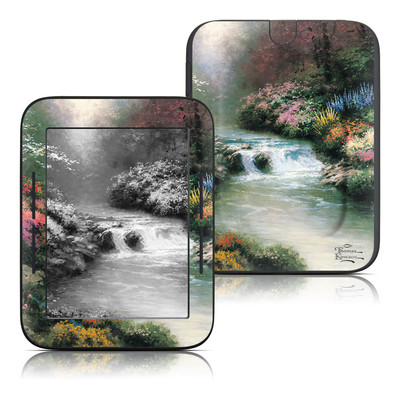 Barnes and noble nook touch skin mountain majesty by thomas kinkade decalgirl for Barnes and noble winter garden