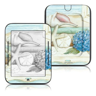 Barnes and Noble Nook Touch Skin - Stories of the Sea