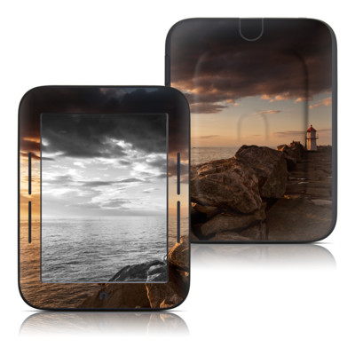 Barnes and Noble Nook Touch Skin - Sunset Beacon