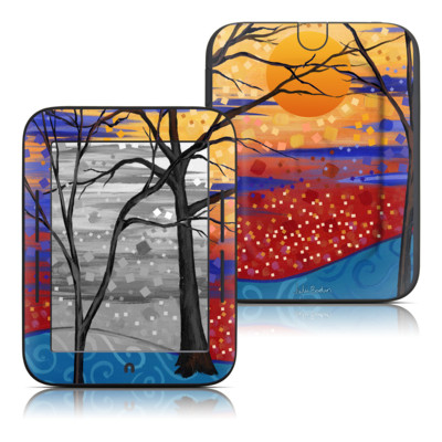 Barnes and Noble Nook Touch Skin - Sunset Moon