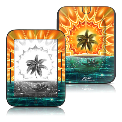 Barnes and Noble Nook Touch Skin - Sundala Tropic