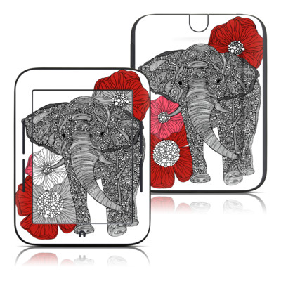 Barnes and Noble Nook Touch Skin - The Elephant