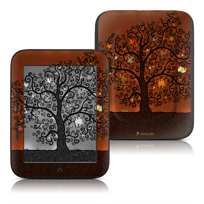 Barnes and Noble Nook Touch Skin - Tree Of Books