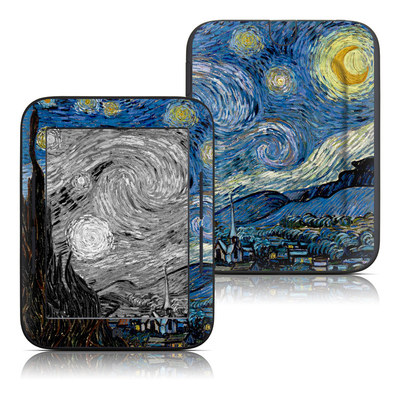Barnes and Noble Nook Touch Skin - Starry Night