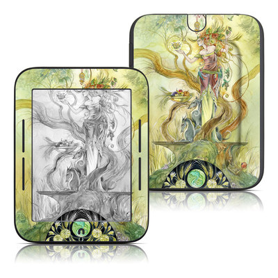 Barnes and Noble Nook Touch Skin - Virgo