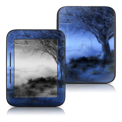 Barnes and Noble Nook Touch Skin - World's Edge Winter