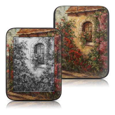 Barnes and Noble Nook Touch Skin - The Window