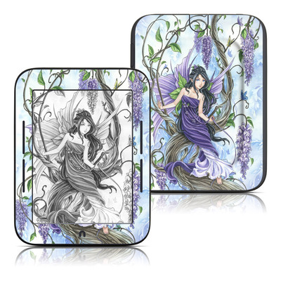 Barnes and Noble Nook Touch Skin - Wisteria