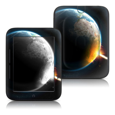 Barnes and Noble Nook Touch Skin - World Killer