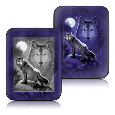 Barnes and Noble Nook Touch Skin - Wolf
