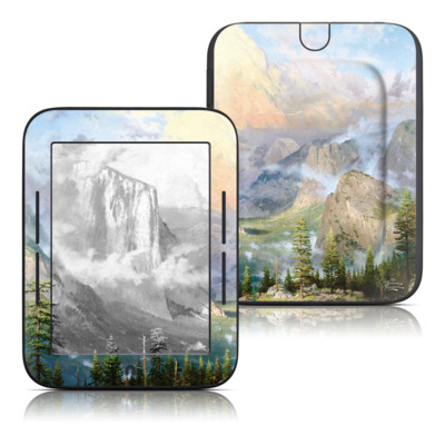 Barnes and Noble Nook Touch Skin - Yosemite Valley