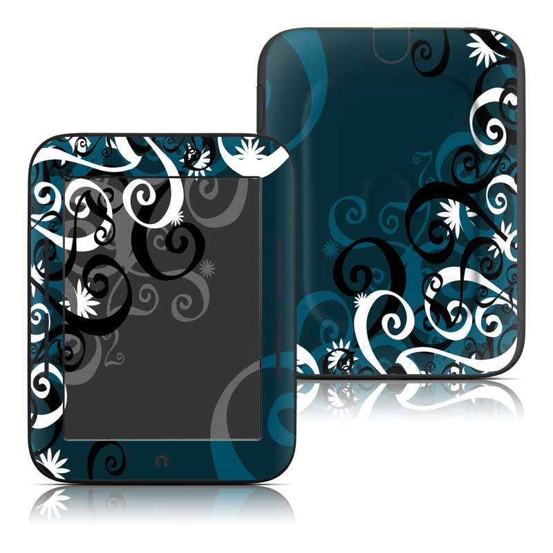 Barnes And Noble Nook Touch Skin Midnight Garden Decalgirl
