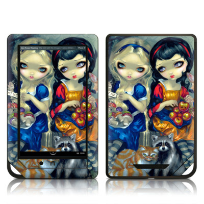 Barnes and Noble NOOK Tablet Skin - Alice & Snow White