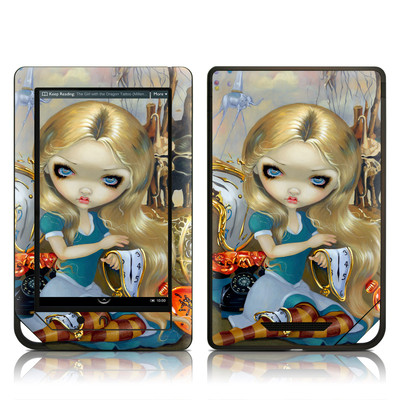 Barnes and Noble NOOK Tablet Skin - Alice in a Dali Dream