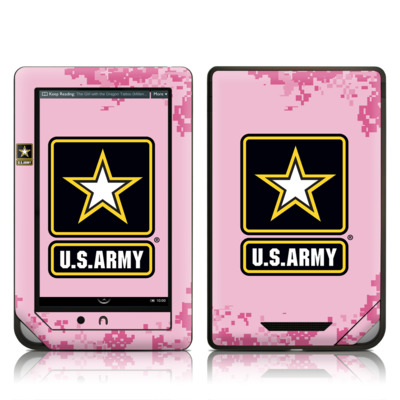 Barnes and Noble NOOK Tablet Skin - Army Pink