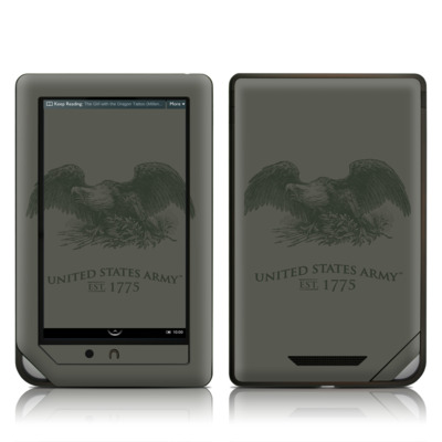 Barnes and Noble NOOK Tablet Skin - Army Crest