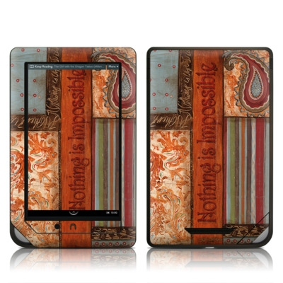 Barnes and Noble NOOK Tablet Skin - Be Inspired