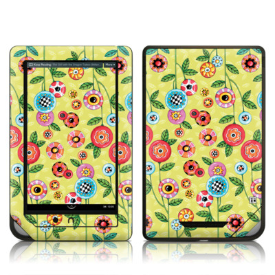 Barnes and Noble NOOK Tablet Skin - Button Flowers