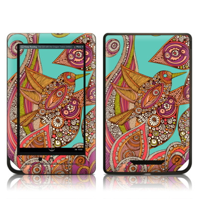 Barnes and Noble NOOK Tablet Skin - Bird In Paradise