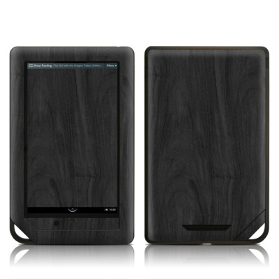 Barnes and Noble NOOK Tablet Skin - Black Woodgrain