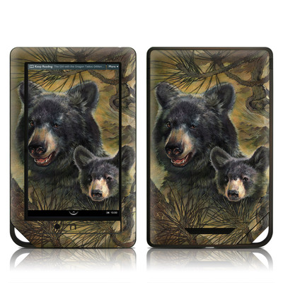 Barnes and Noble NOOK Tablet Skin - Black Bears