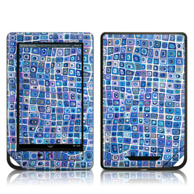Barnes and Noble NOOK Tablet Skin - Blue Monday