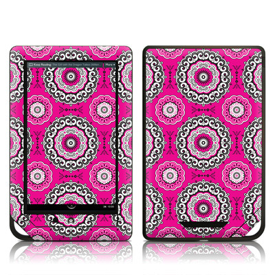 Barnes and Noble NOOK Tablet Skin - Boho Girl Medallions