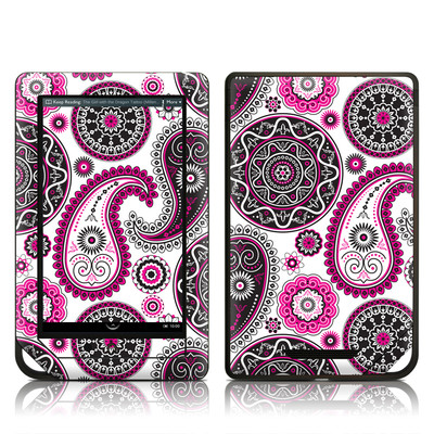 Barnes and Noble NOOK Tablet Skin - Boho Girl Paisley