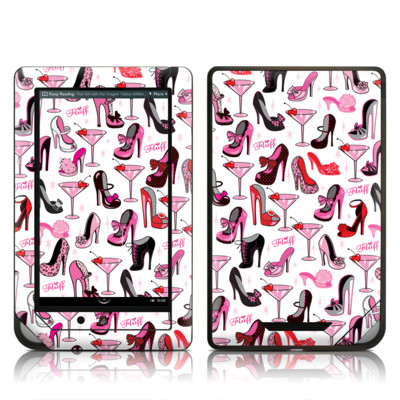Barnes and Noble NOOK Tablet Skin - Burly Q Shoes